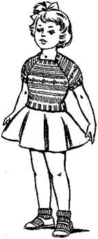 Кофточка с рукавами реглан для девочки 3 лет
